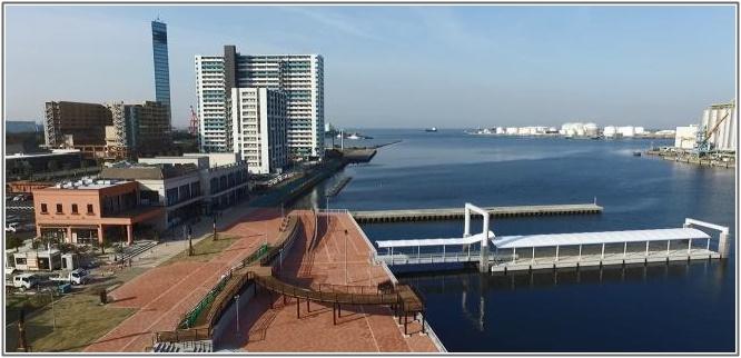 千葉中央港旅客船桟橋&旅客船ターミナル等複合施設「ケーズハーバー」